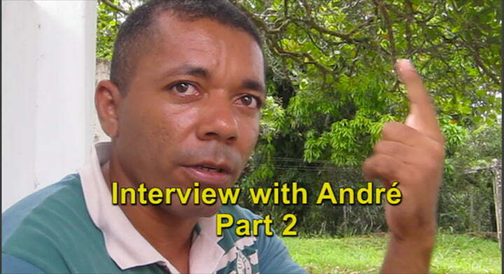 Interview with André Part 2