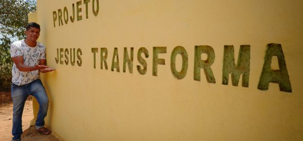 Tiago - It's Jesus who transforms!