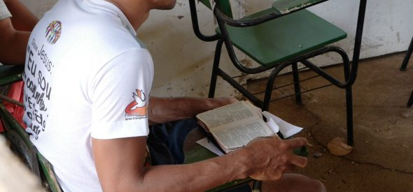 A student in the Jesus Transforms project in Carpina