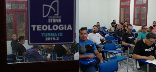 Saulo in seminary class