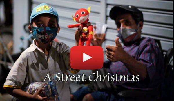 A Street Christmas Video